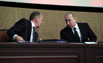 Vladimir Putin, Alexander Bortnikov.