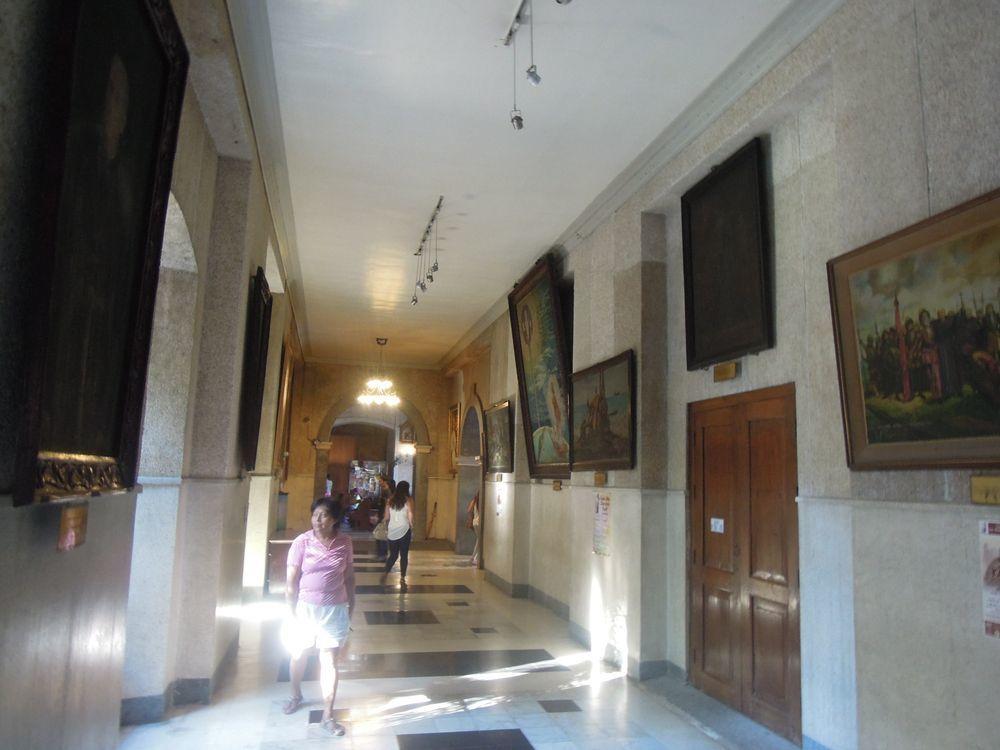 Hallway inside Sto. Nino Shrine in Cebu City