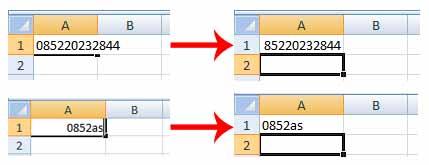 Cara Mengetik Nomor Hp Di Excel Media Edukasi