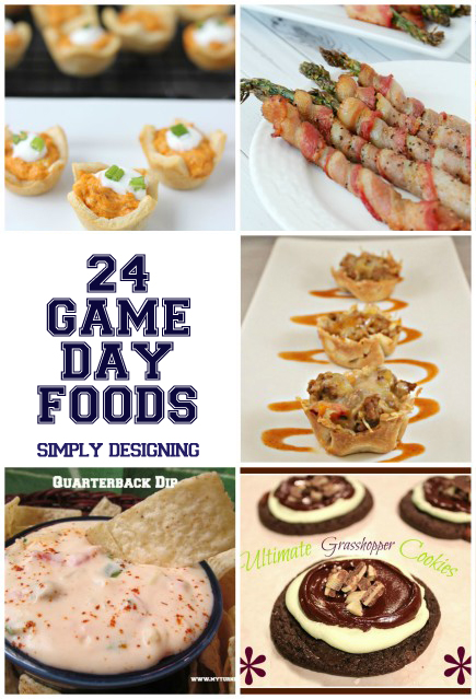24 Game Day Foods | #gameday #football #sports #recipes #appetizers