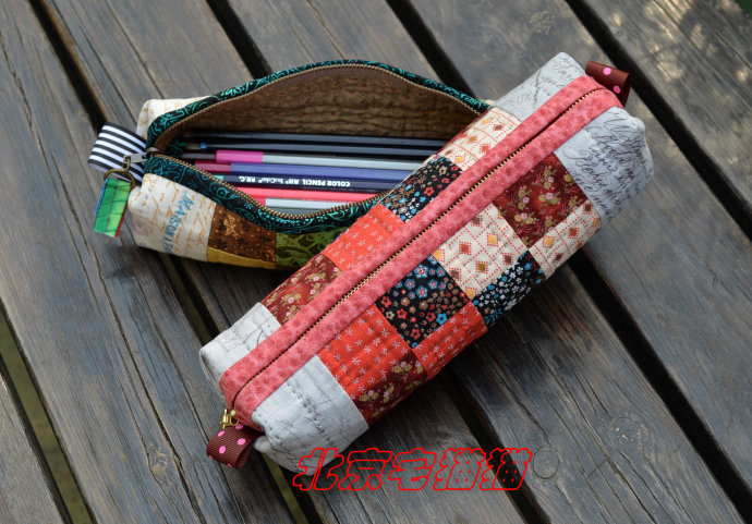 Patchwork Pencil Case  check out our step by step photo tutorial.