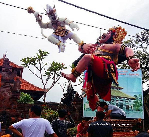 Pawai Ogoh-Ogoh, Kebudayaan Yang Unik, Yang Dimiliki Oleh Indonesia, Yang Diselenggarakan Setahun Sekali