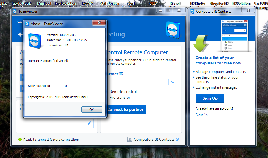 TeamViewer 10 0 40386 + All Edition (Crack) FULL