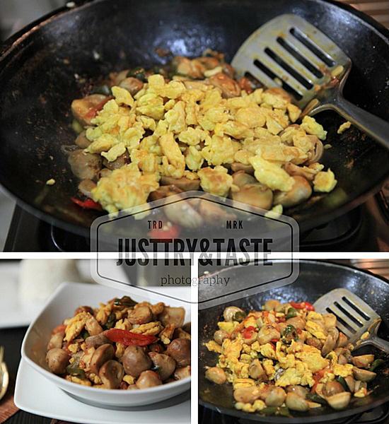 Resep Orak-Arik Telur dengan Jamur