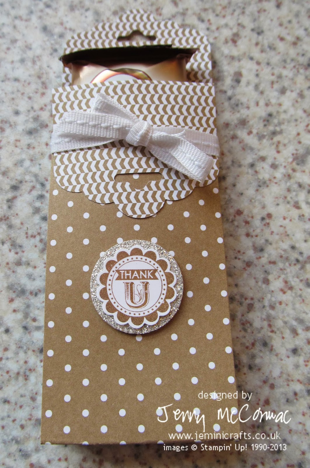 Wrapped Chocolate Bars Stampin Up Card Class Northampton