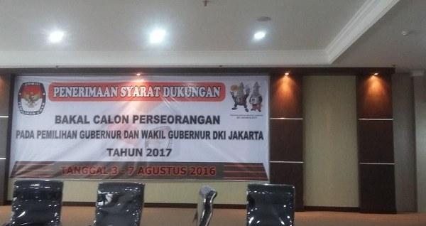 Pembukaan Pendaftaran Calon Gubernur Independen Oleh KPU