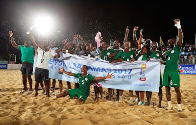 FIFA Beach Soccer World Cup: Supersand Eagles off to Bahamas
