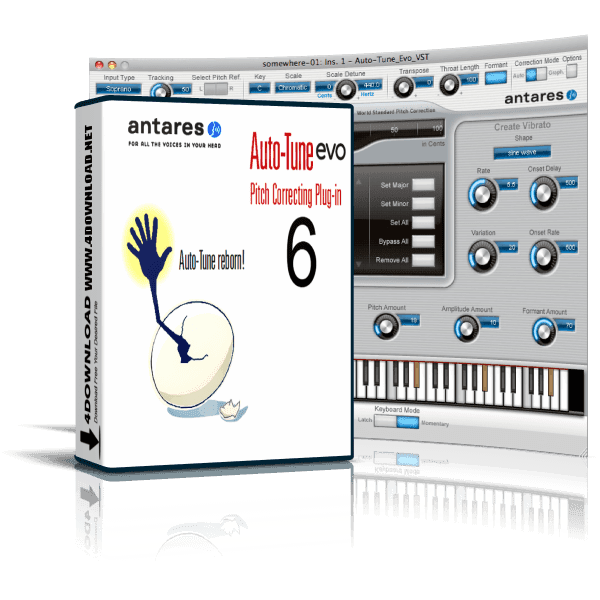 Auto-Tune Evo v6.0.9.2 Full version