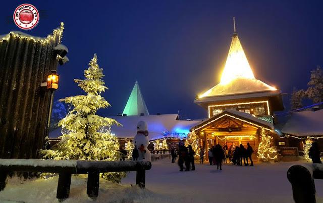 Santa Claus Village, Rovaniemi, Finlandia