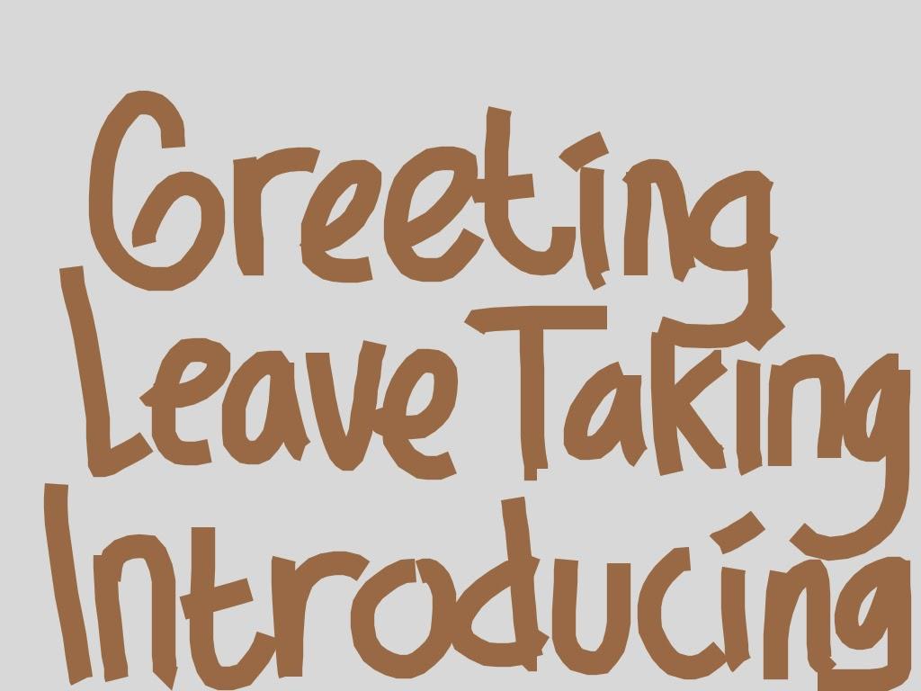 Soal Kelas 7 Greeting Leave Teaking And Introducing Bahasa Inggris