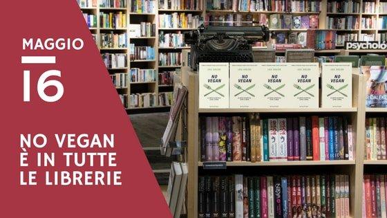 No vegan esce in libreria il 16 maggio