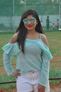 Madhulagna Das looks super cute in White Shorts and Transparent Top 37.JPG