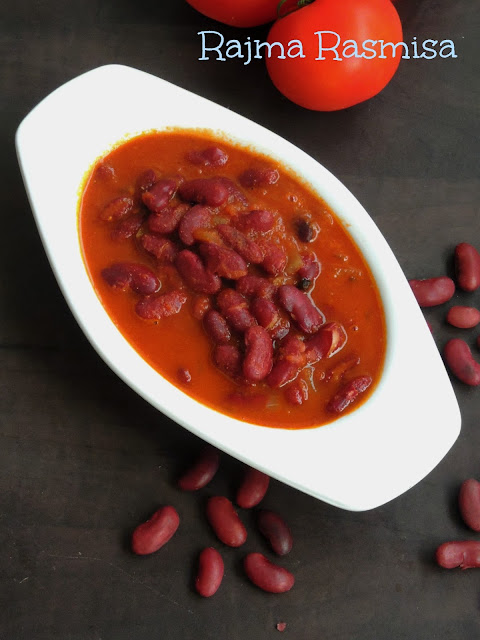 Rajma Curry, Kidney Beans Rasmisa