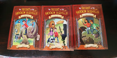 The Secret of the Hidden Scrolls Books 1-3 (Book Review)