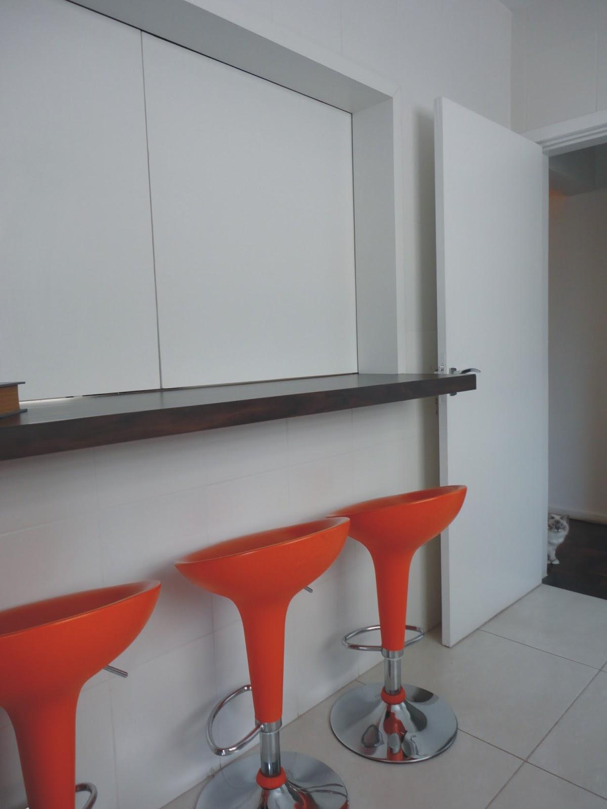 Cozinha Americana Com Janela De Vidro Apartamento Botafogo Cozinhas