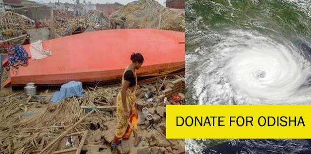 Donate Money and Food | Cyclone FANI | Rebuild Odisha