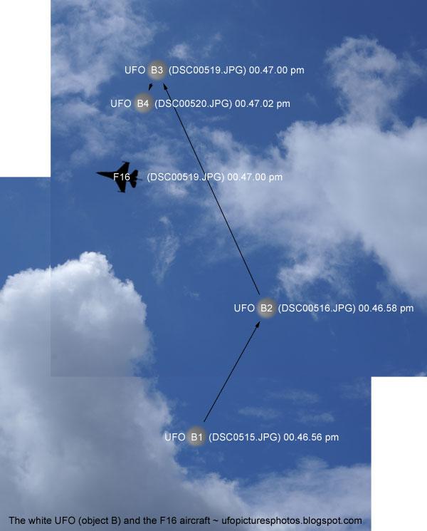 Object B observe F16?