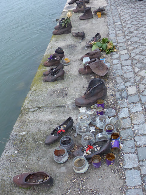 Mémorial des chaussures Budapest Hongrie