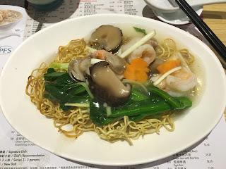 Fresh prawn with Crispy Noodle