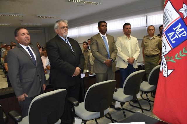 Em audiência pública, MPE/AL instala conselhos municipais de segurança pública em Cacimbinhas, Minador do Negrão e Dois Riachos