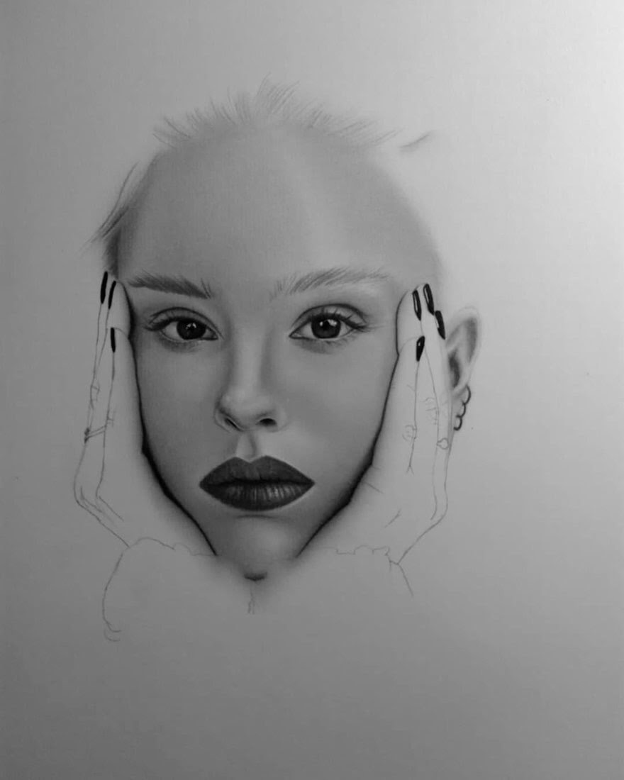 08-D-Ponjavić-WIP-Pencil-Portrait-Drawings-www-designstack-co