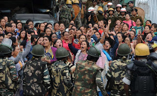 Various political leaders reactions on Darjeeling agitation