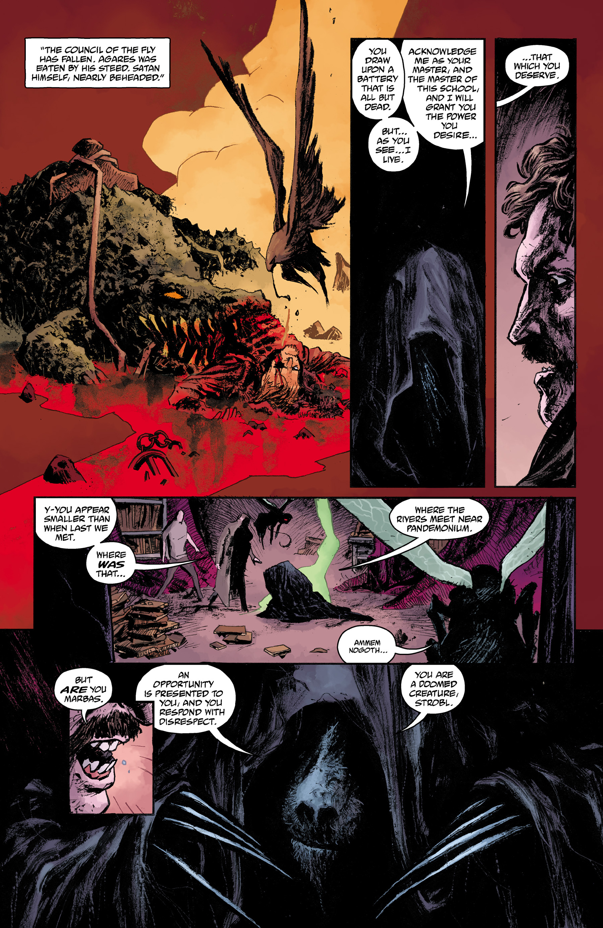 Read online Abe Sapien comic -  Issue #31 - 17