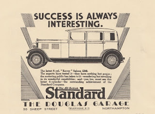 Douglas Garage Standard advert May 1930