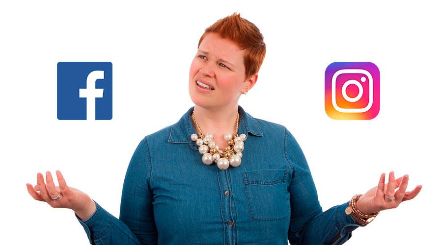 como publico fotos de Instagram en pagina de Facebook