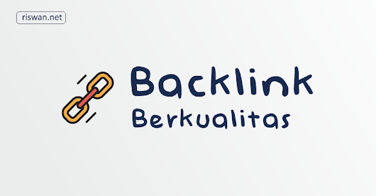 Jasa Backlink Powerful Murah Berkualitas