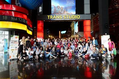 Blogger Trans Studio Bandung