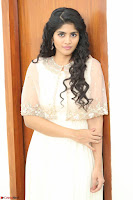 Megha Akash in beautiful Cream Transparent Anarkali Dress at Pre release function of Movie LIE ~ Celebrities Galleries 066.JPG