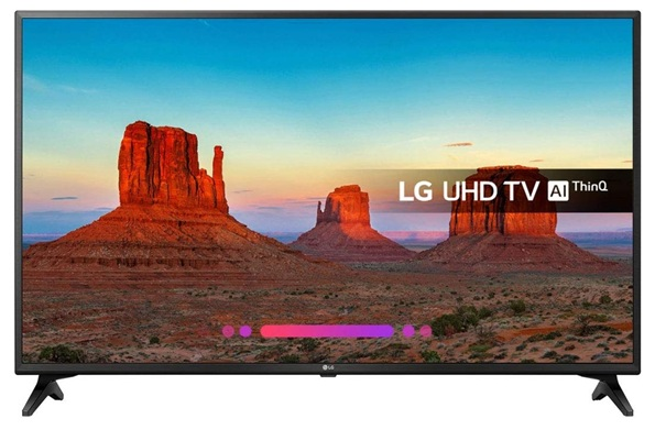 LG 49UK6200PLA: panel IPS 4K de 49'' con soporte HDR nativo