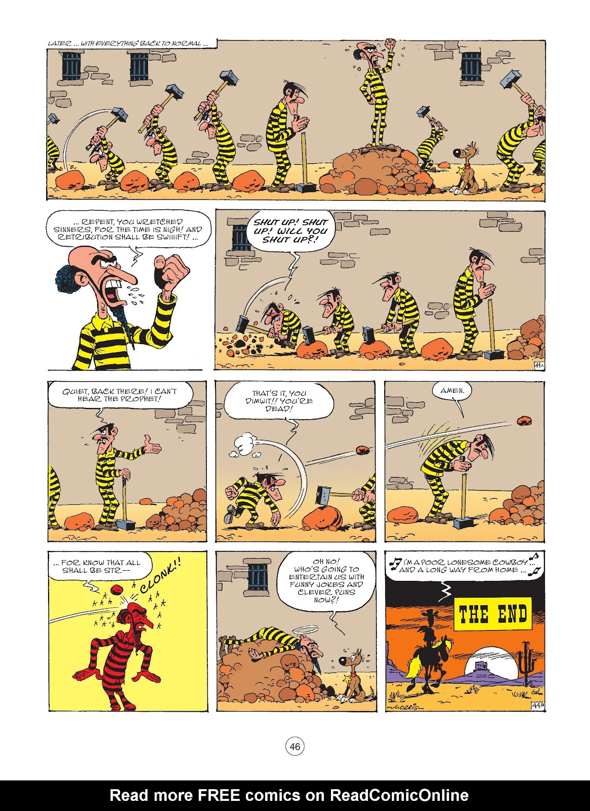 A Lucky Luke Adventure issue 73 - Page 48