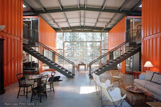 Desain Interior Rumah Kontainer