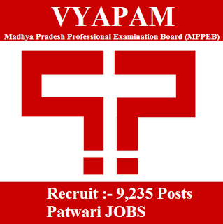 Madhya Pradesh Professional Examination Board, MPPEB, VYAPAM, MP, Madhya Pradesh, Patwari, Graduation, freejobalert, Sarkari Naukri, Latest Jobs, Hot Jobs, vyapam logo