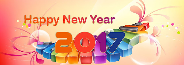 Happy New Year 2017 FB Cover Photos Download Free