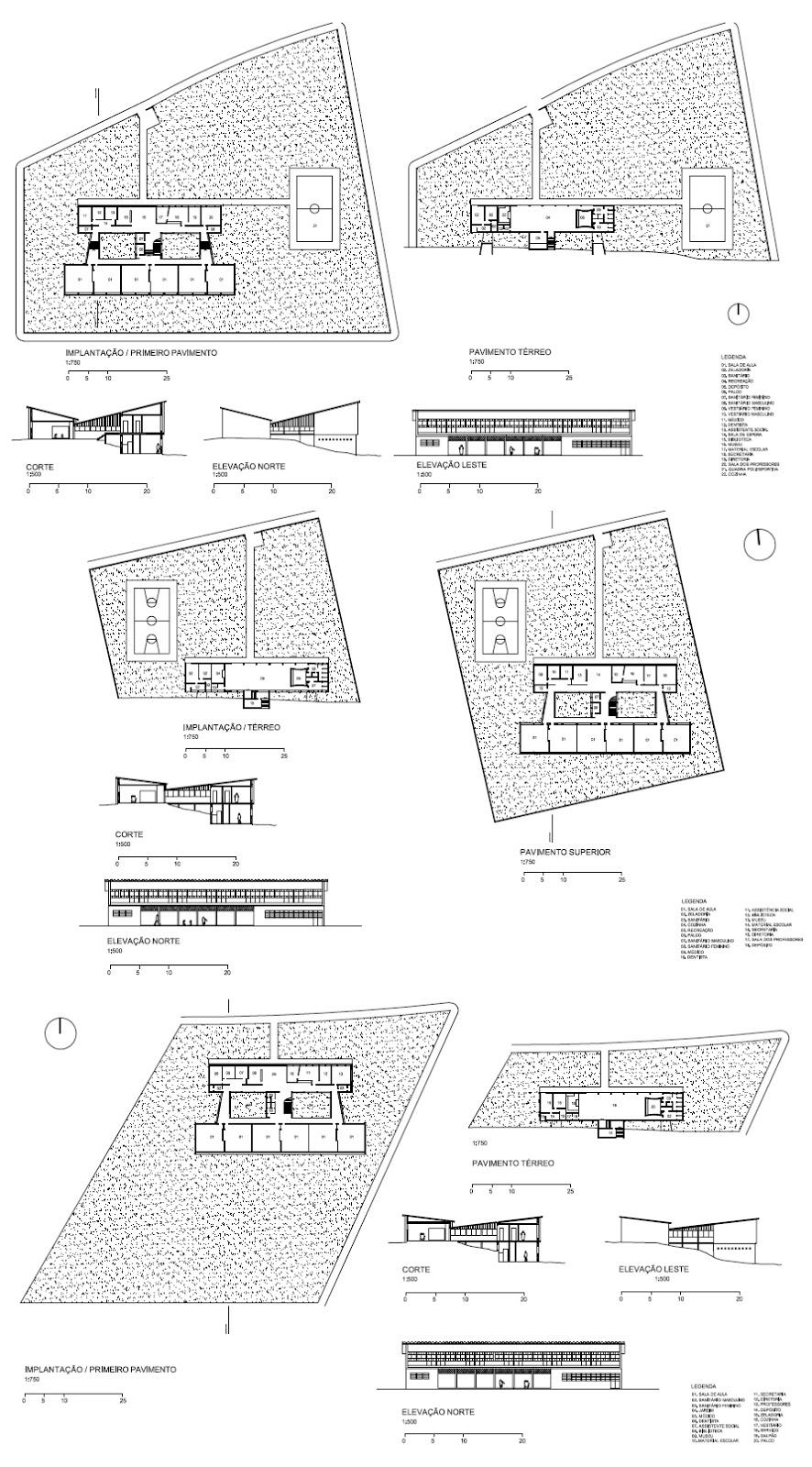 """Projeto original da Escola Isabel Vieira. Fonte: dissertação """"Convênio escolar: utopia construída"""" (USP)"""