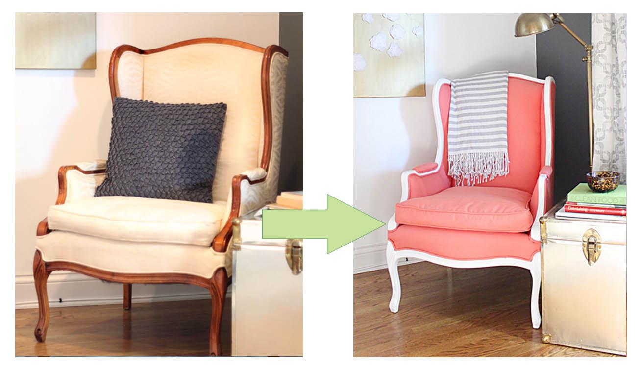 C mo pintar las telas y tapizados de sillas y sillones - Como tapizar un sillon ...
