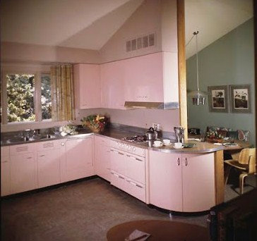 Farm Girl Pink Vintage Pink Kitchens Random