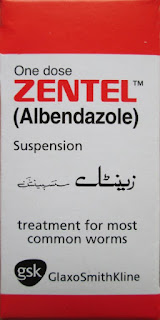 Zentel Suspension