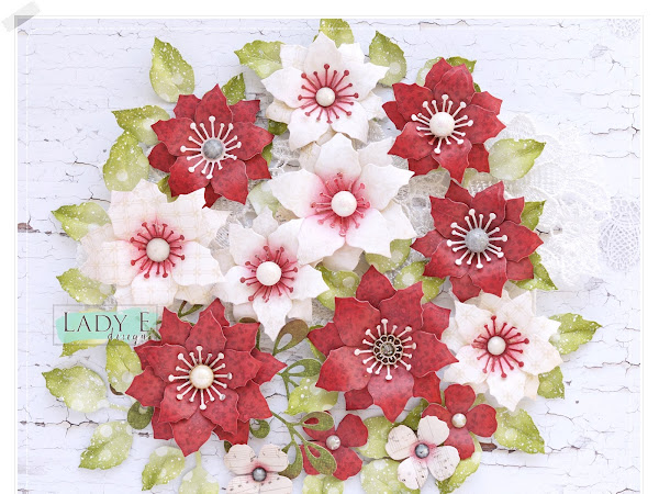 Handmade Poinsettia Flowers & Video