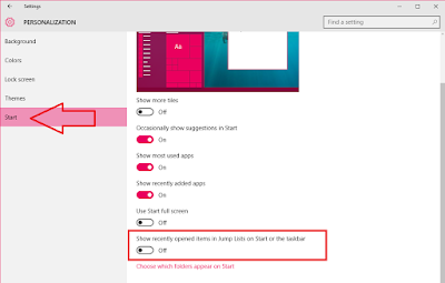 How to Clear & Stop Recent Items from a Jump List in Windows 10,how to clear recent history,how to remove recent item open,windows 10 recent history clear,remove,delete,stop,disable,app history,jump list clear,all history,apps,vidoe player,music history,web browser history,chrome,firefox,winamp,video history,Turn Off,recently opened items,start menu icon history,taskbar icon history remove,jump list remove,most visited clear,icon history Remove and Stop recent opened files and items from jump list in windows 10..  Click here for more detail... How to Clear & Stop Recent Items from a Jump List in Windows 10