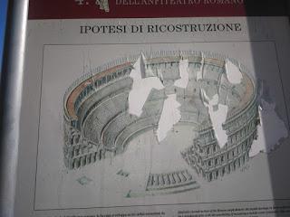 Anfiteatro Romano di Milano come era