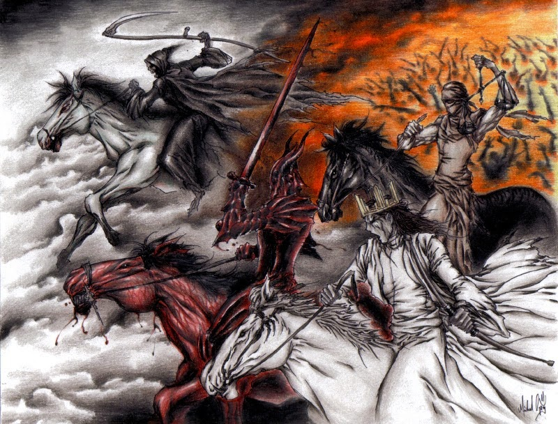 Josie Hagen Ministries: The Four Horsemen of The Apocalypse!