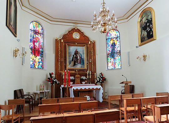 Kaplica pw. św. Teresy od Dzieciątka Jezus.