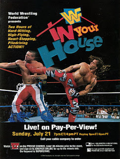 WWF / WWE - IN YOUR HOUSE 9: International Incident - Event Poster