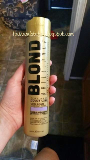 Blond Brilliance Leathering Toner Purple Shampoo