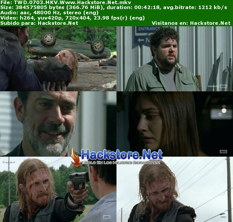 "Capturas de The Walking Dead 7×03 ""The Cell"""