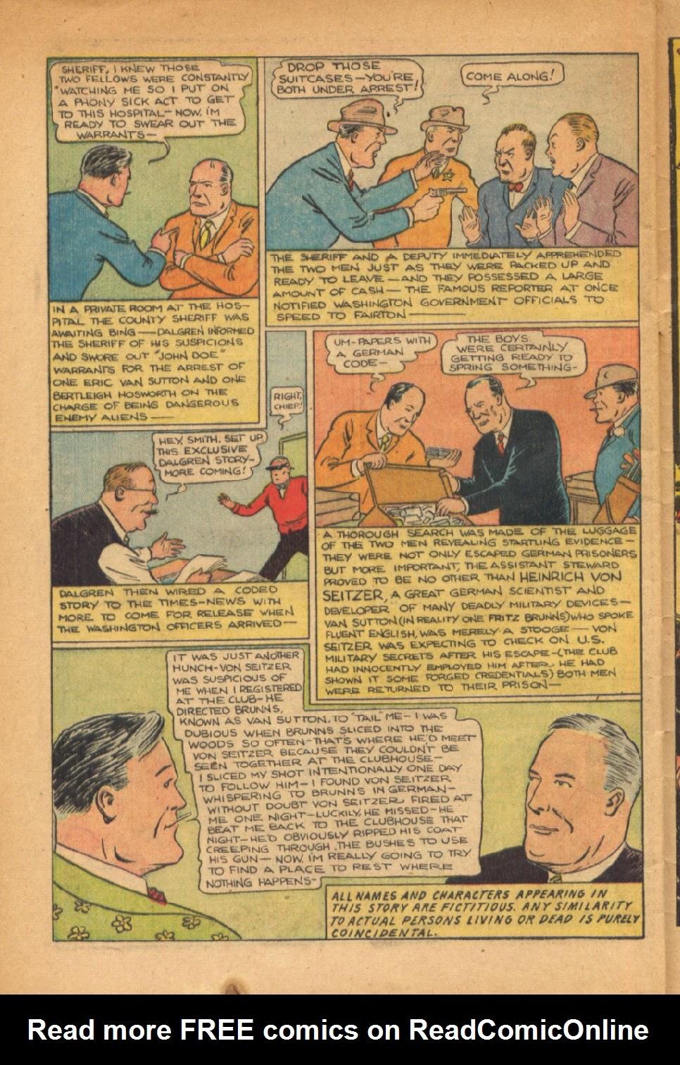 Read online Super-Magician Comics comic -  Issue #54 - 41